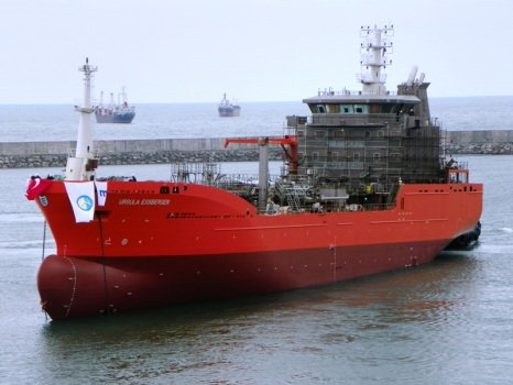 5300 DWT Stainless Steel Chemical Tanker
