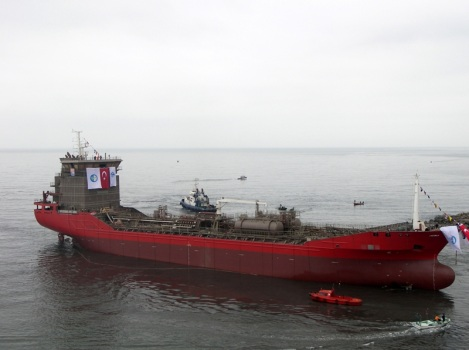 8400 DWT Chemical Tanker